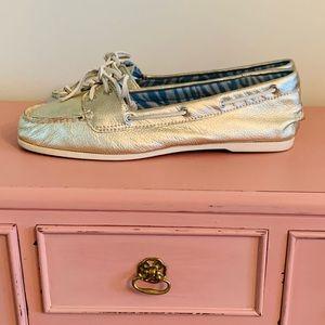 Metallic Sperry's  - The Original Boat Shoe